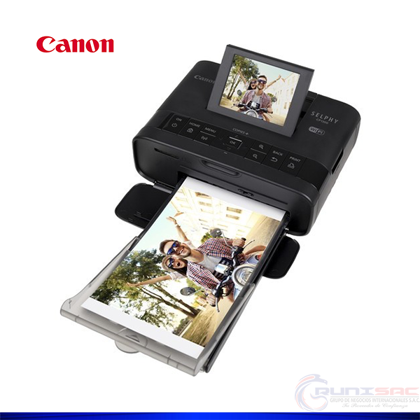 Impresora fotográfica Canon SELPHY CP1300 hasta 300 x 300ppp,
