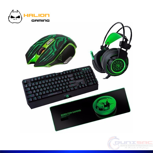KIT SUPER HALION GREEN GHOST GAMING