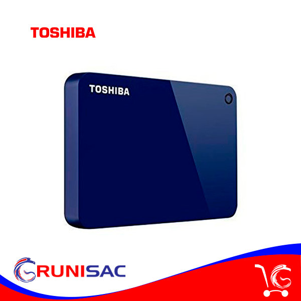Disco Duro de 2TB Externo USB 3.0 Toshiba Canvio Advance