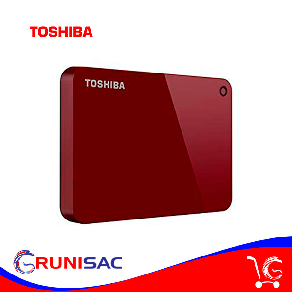 Disco Duro de 1TB Externo USB 3.0 Toshiba Canvio Advance