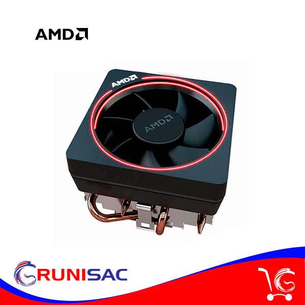 CPU Cooler AMD Wraith, para Socket AM4 y AMD Ryzen, RGB