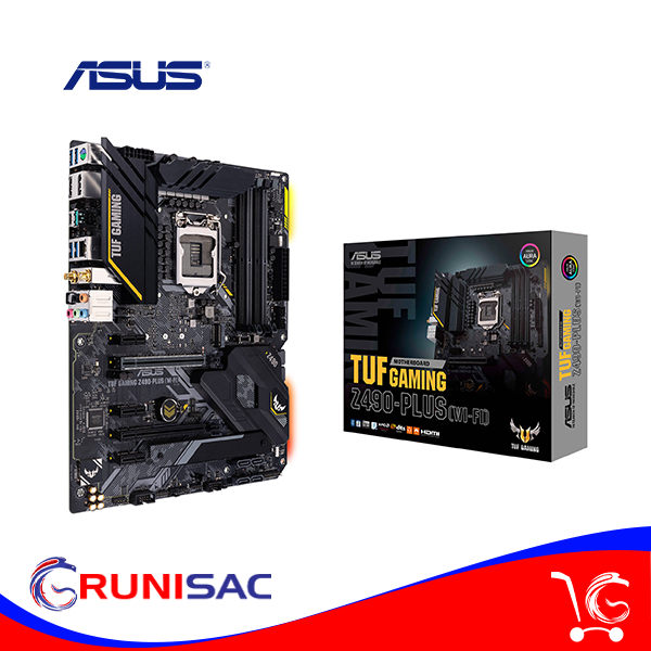 MB ASUS TUF Gaming Z490-PLUS (WI-FI) socket LGA1200
