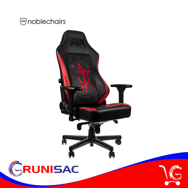 Silla Noblechairs Heroe Gaming CHAIR DOOM EDITION